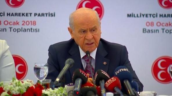Bahçeli: MHP Cumhurbaşkanlığı adayı göstermeyecek