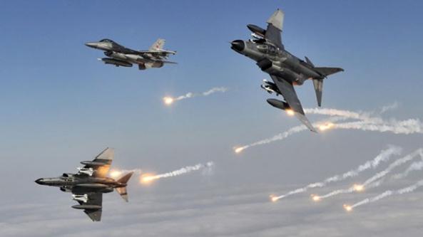 Jetler PKK kamplarını vurdu