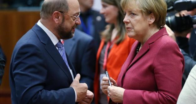 Merkel koalisyondan umutlu