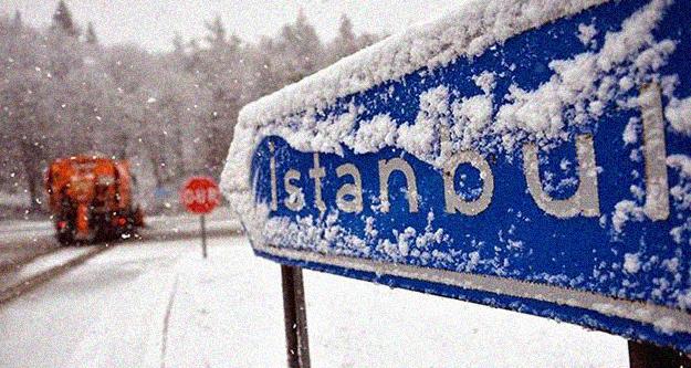 Meteoroloji İstanbul'da kar yağışının saatini açıkladı