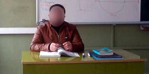 Tacizci öğretmen açığa alındı