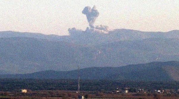 TSK, Afrin#039;i obüslerle bombardımana tutuyor
