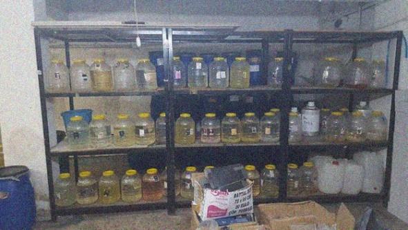 1 milyon liralık sahte parfüm operasyonu