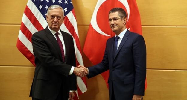 Canikli ve Mattis Brüksel'de görüştü