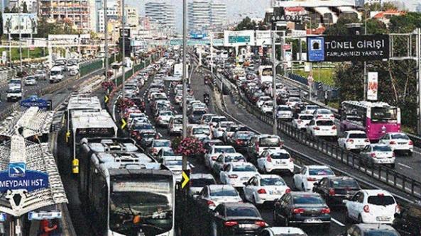 İstanbul'da okul trafiği