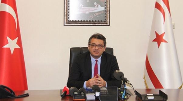 KKTC'de yeni başbakan göreve başladı