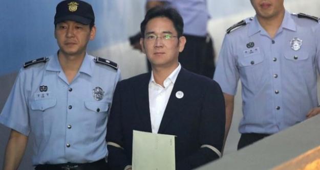 Samsung'un varisi serbest bırakıldı