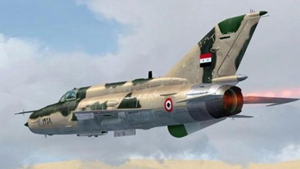 Suriye'den İsrail uçaklarına müdahale