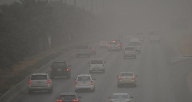 Suudi Arabistan'da toz fırtınası