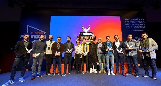 """E-Spor'un 'En Büyükleri"""" seçildi"""
