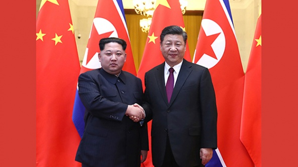 Kuzey Kore lideri Kim Jong-un Çin'i ziyaret etti