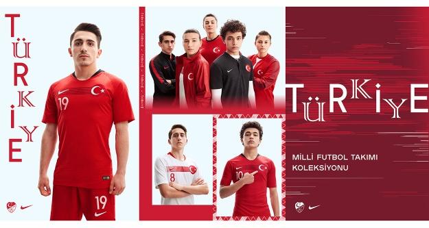 Nike, Türk Milli Takımı'nın yeni formasını tanıttı