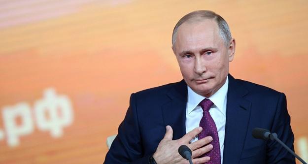 Putin açık ara farkla kazandı