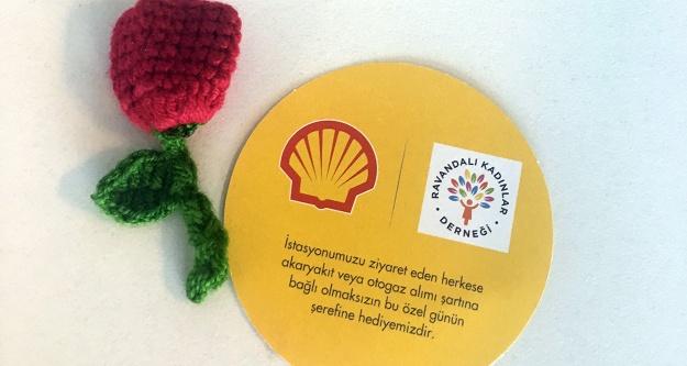 Shell'den kadın emeğine destek