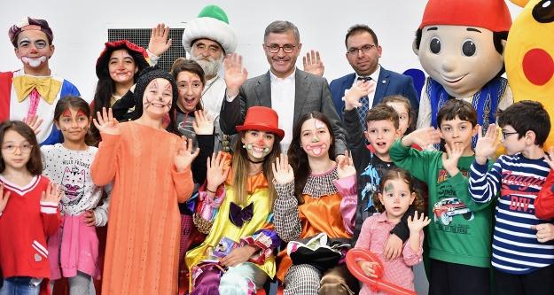 Üsküdar'da çocuklar eğlenceye doydu