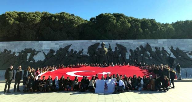 Bin öğrenciye Çanakkale turu
