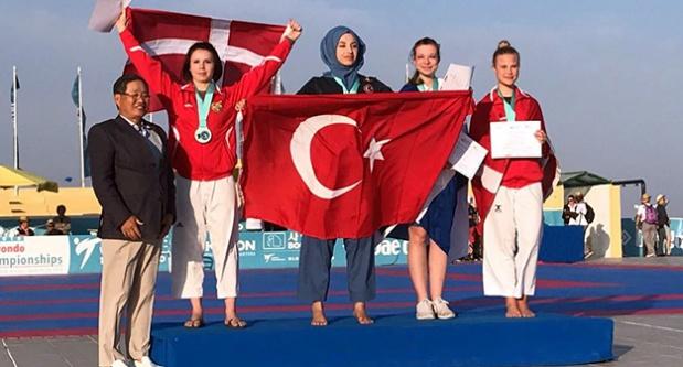 Kübra Dağlı, Dünya şampiyonu oldu