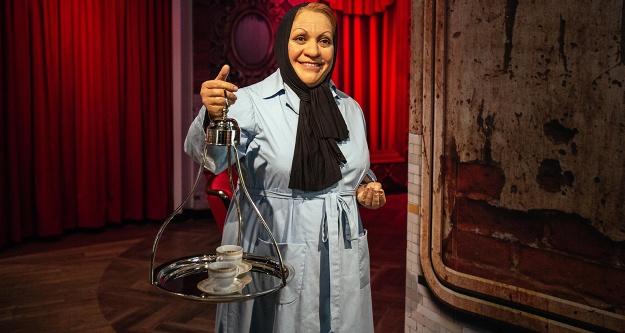 Adile Naşit Madame Tussauds'da