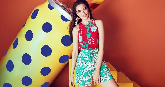 Bu yaz rengarenk moda