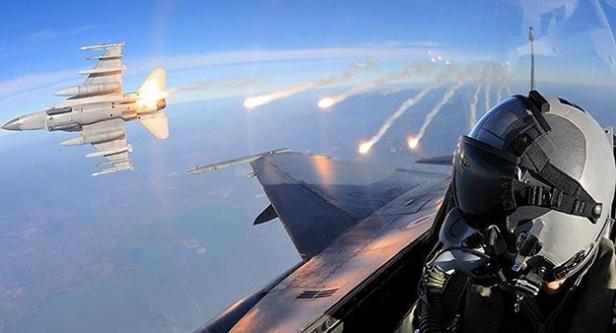 MİT tespit etti F16'lar vurdu