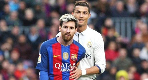 Ronaldo, Messi'ye fark attı