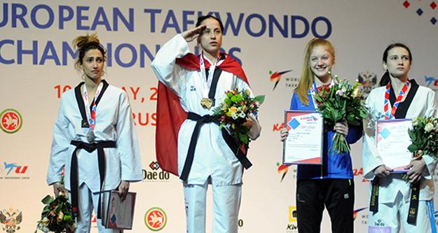 Rukiye Yıldırım Avrupa Şampiyonu oldu