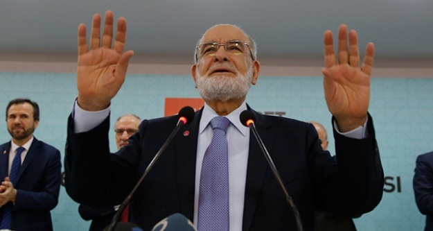 Saadet Partisi'nin adayı Temel Karamollaoğlu