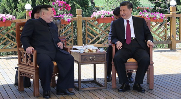 Xi Jinping, Kim Jong-un'la görüştü