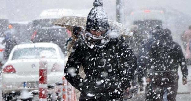 Marmara'ya kar ve fırtına uyarısı