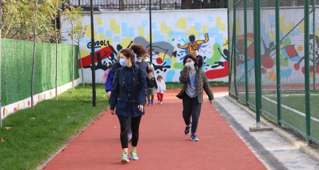 Spor Tesisi Atalar'a  yeni soluk getirdi