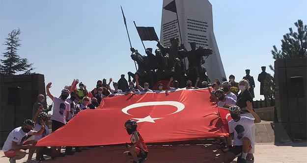 Türkiye'nin ilk bisiklet meclisinin ilk heyecanı