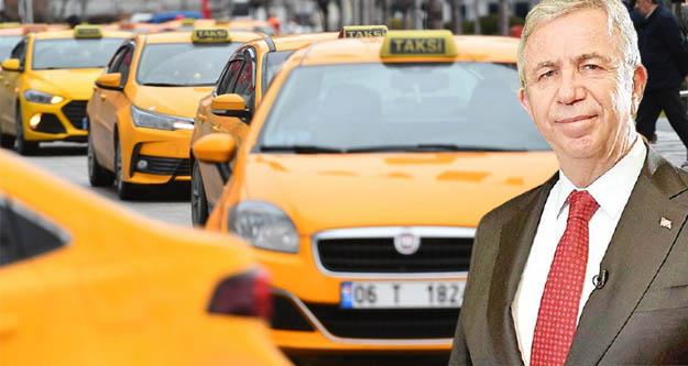 Ankara Büyükşehir Belediyesi taksici esnafına desteğini sürdürüyor