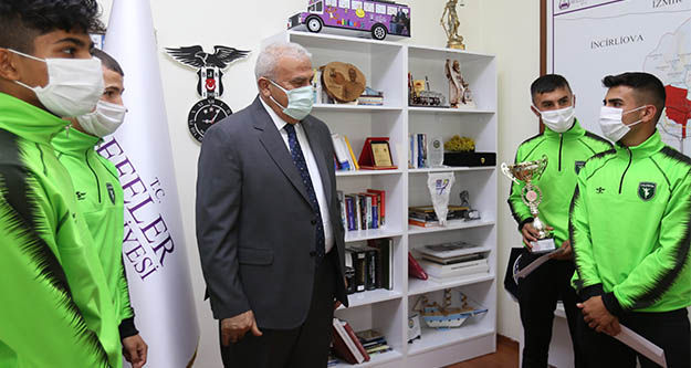 Efeler Spor Kulübü'nden Başkan Atay'a ziyaret