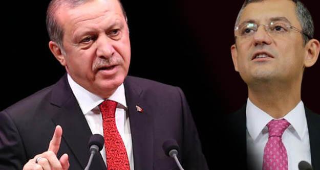 Erdoğan'dan CHP'li Özel'e tazminat davası