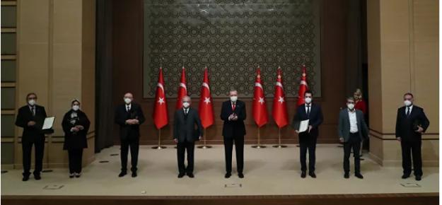 Erdoğan: Yaşadığımız şu topraklar, sanat üretimi için bir klasör gibidir