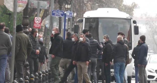 Haber-Sen'in 'Sürgüne hayır'eylemine polis engeli