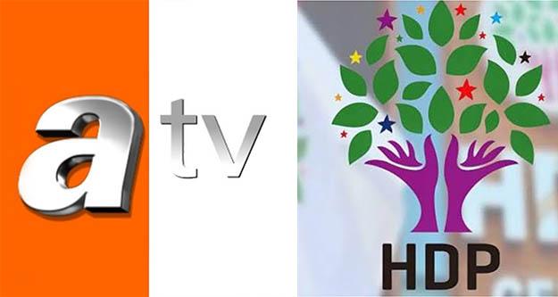 HDP, ATV'yi RTÜK'e şikayet etti