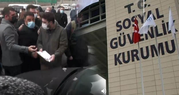 SGK'ya dilekçe veren kafe bar işçilerine polis engeli