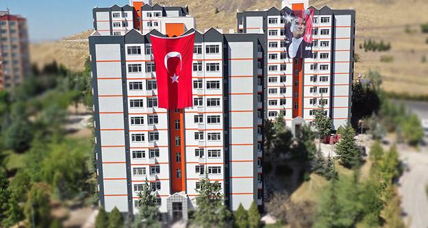 Ankara Büyükşehir'den aylık 100 TL ile kiralık  konutlar