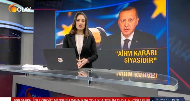 ÇGD: Olay TV'nin kapatılmasına kılıf bulmak acizliktir