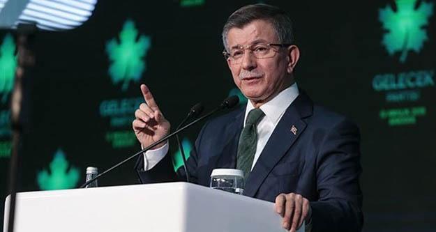 Davutoğlu:  Bahçeli dün yalancı dediği Erdoğan ile bugün beraber