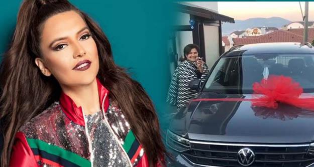 Demet Akalın, annesine 500 bin Liraya Volkswagen Tiguan  aldı