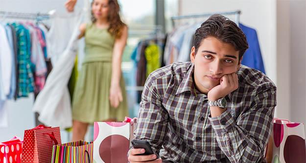 Erkekler mağazadan alışverişi neden sevmiyor