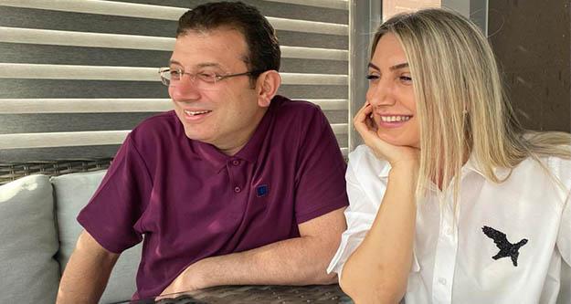 İmamoğlu çifti,2021 yılını çocuklarla karşıladı