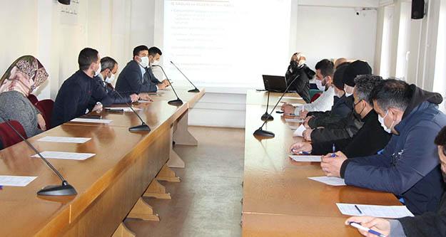 Seydişehir Belediye personeline, İşçi sağlığı ve iş güvenliği eğitimi
