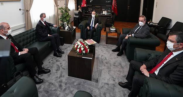 Akar ve Soylu, Kılıçdaroğlu'nu ziyaret etti