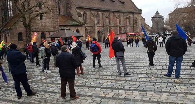 Avrupa'da Boğaziçi Üniversitesi'ne destek eylemleri