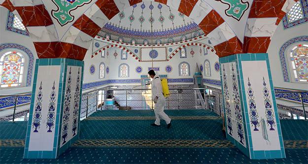 Çankaya Belediyesi'nden camilere onarım desteği