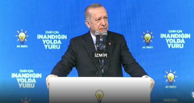 Cumhurbaşkanı Erdoğan'dan CHP'nin 'Damat Nerede' sorusuna yanıt