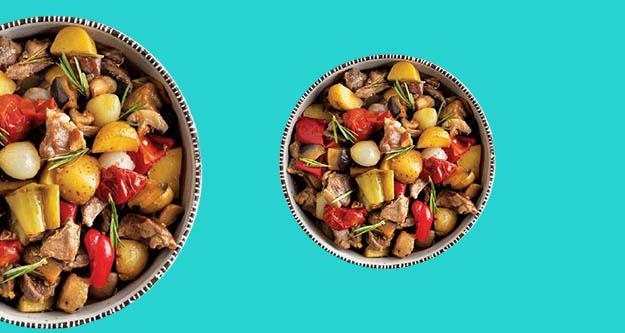 Hem kolay, lezzetli Fırında Sebze tarifi